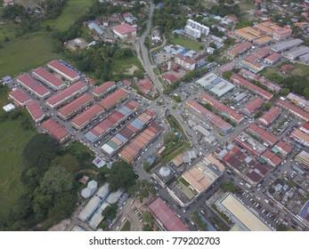 Sky view of Kota Belud,Sabah.
