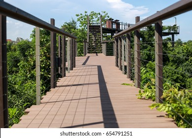 sky walkway