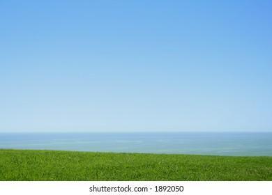 sky water land