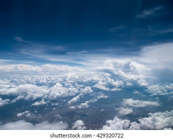 Sky and White cloud