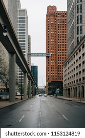 Skybridge between One Woodward and the Guardian Building, in Detroit, Michigan