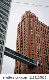 Skybridge in downtown Detroit, Michigan