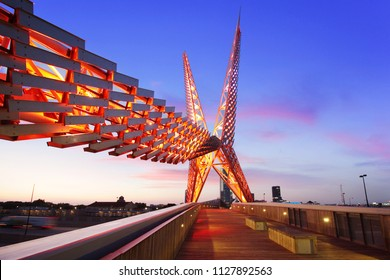 Skydance Bridge - Scissortail Oklahoma City