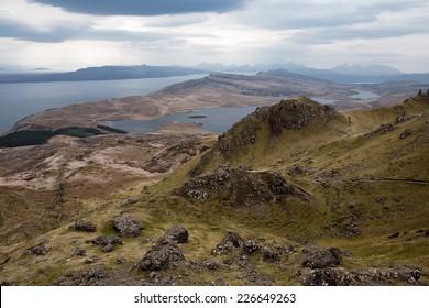 Skye island - the Old Man of Storr, Scotland, UK