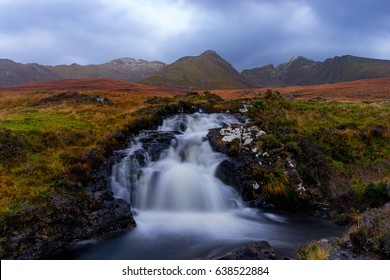 Skye, or the Isle of Skye is the largest and northernmost of the major islands in the Inner Hebrides of Scotland. The island's peninsulas radiate from a mountainous centre dominated by the Cuillins.