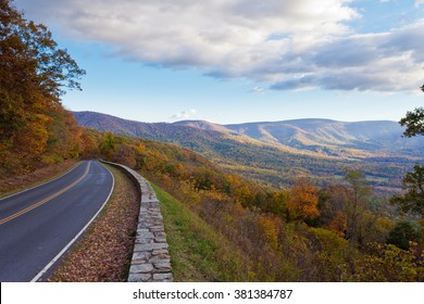 Skyland Drive, Shenandoah National Park, Virginia, VA, USA