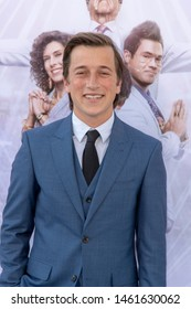 "Skyler Gisondo  attends HBO's ""The Righteous Gemstones"" Los Angeles Premiere  at Paramount Studious, Los Angeles, CA on July 25 2019"