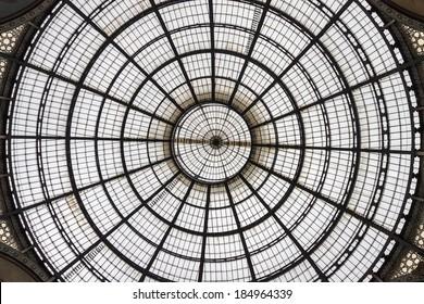 Skylight inside the building