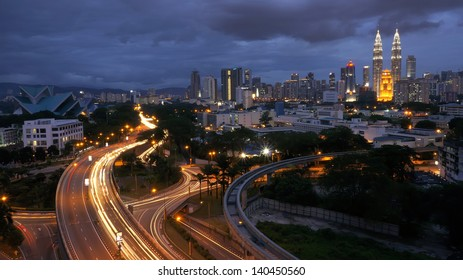 Skylight of Kuala Lumpur City