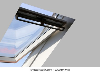 Skylight on a residential home, interior shot