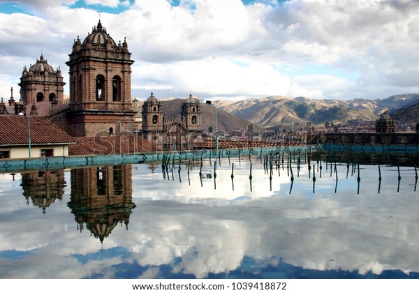 Skyline above Cusco, Peru