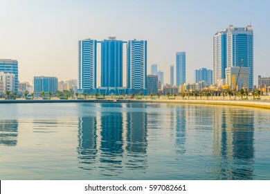 Skyline of Ajman, UAE