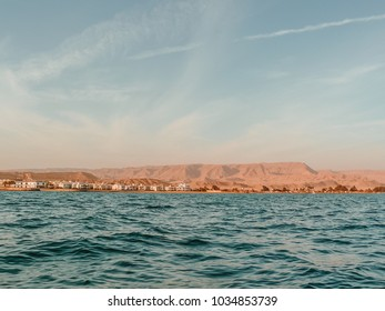 Skyline of Al Ain Al Sokhna, Suez, Egypt