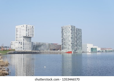 Skyline of Almere, The Netherlands