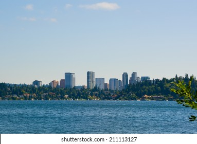 Skyline of Bellevue Washington