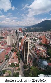 Skyline of Bogota, Colombia