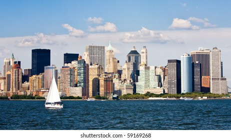 Skyline and buildings of New York City