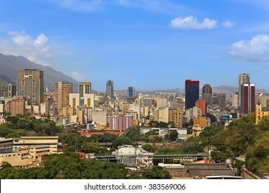Skyline of Caracas, Venezuela