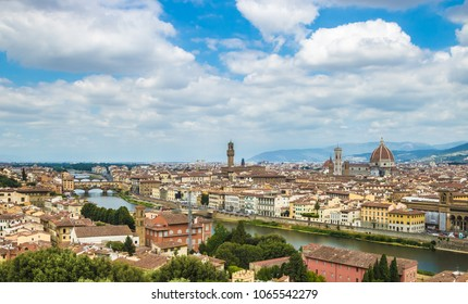 Skyline with cathedral of Florence, capital of Tuscany region, Italy