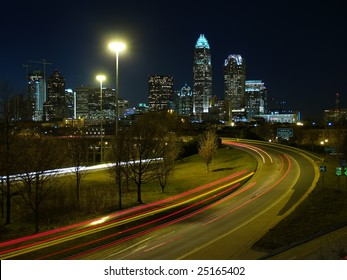 Skyline of Charlotte, NC