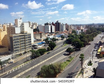 Skyline of the city of Campinas, Brazil (in Sao Paulo state)