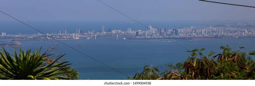 Skyline of the city of Da Nang, Vietnam