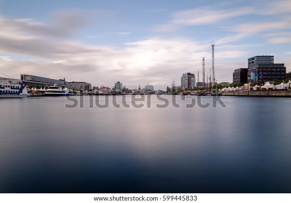 Skyline der Stadt Kiel