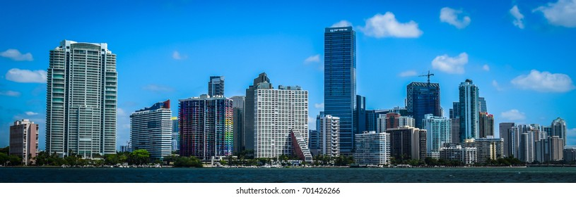 Skyline of the city of Miami, Florida