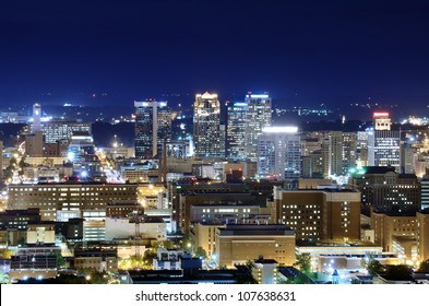 Skyline of downtown Birmingham, Alabama, USA.