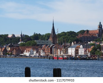 skyline from flensburg, northside