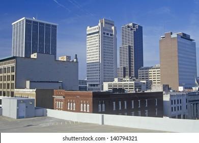 Skyline in Little Rock, Arkansas