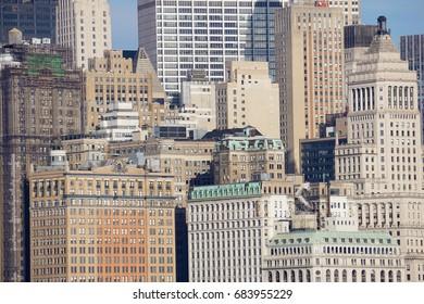 Skyline of Manhattan, New York City