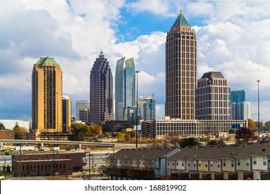 Skyline of Midtown Atlanta, Georgia, USA