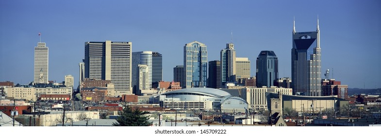 Skyline of Nashville, Tennessee