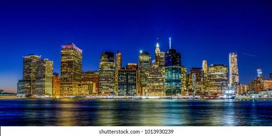 Imágenes Fotos De Stock Y Vectores Sobre New York Night