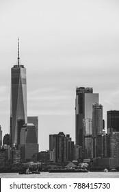 Skyline of New York City. Urban Concept.