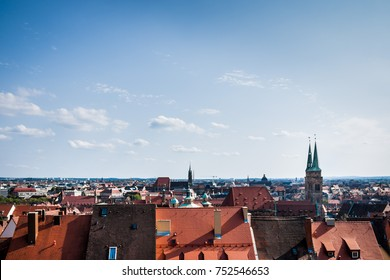 Skyline Nuremberg Germany
