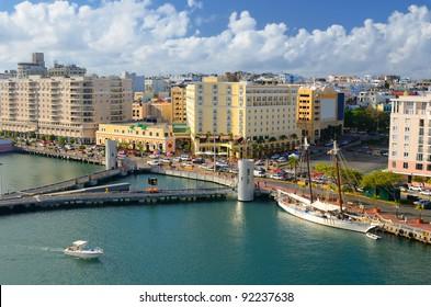 Skyline of Old San Juan, Puerto Rico