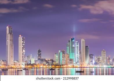 Skyline at Panama City
