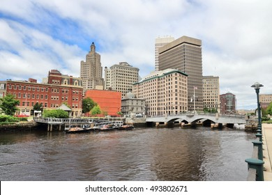 Skyline of Providence, Rhode Island. City view in New England region of the United States.