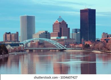 Skyline of Rochester New York