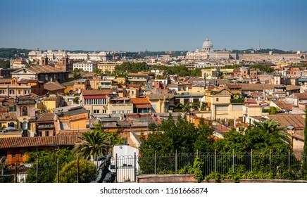 Skyline Rome Italy