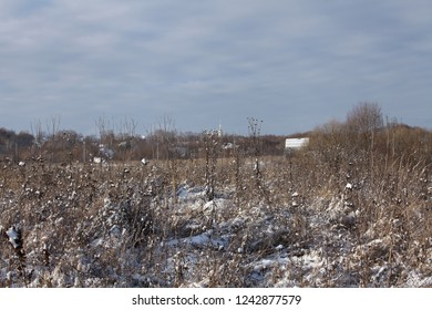 skyline russia winter