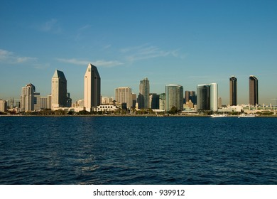 Skyline of San Diego from Coronado Island