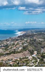 Skyline of San Diego Residential Area