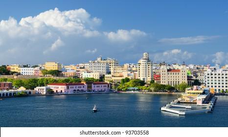 Skyline of San Juan, Puerto Rico