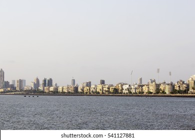 Skyline shot of financial capital of India