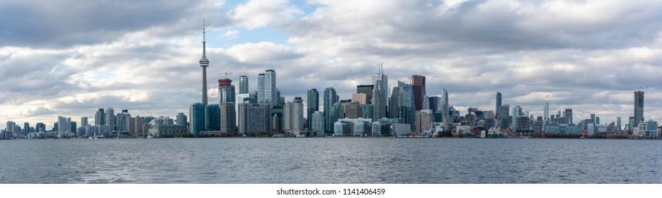 Skyline of Toronto, Ontario, Canada