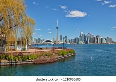 Skyline of Toronto, Ontario - Canada
