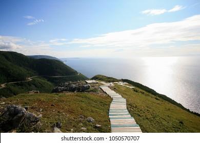 The Skyline Trail in Cape Breton